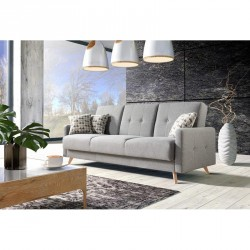 Scandi 3 seater scandinavian style sofa