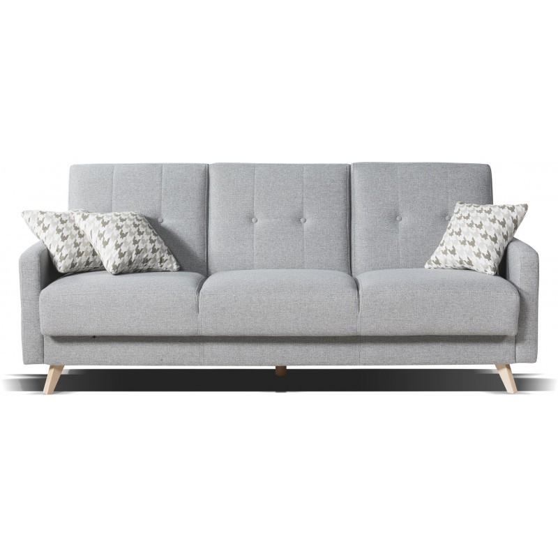 Scandi 3 seater scandinavian style sofa sofas 2975 for Scandinavian style sofa