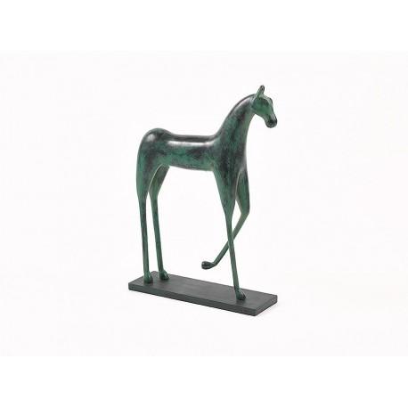 Horse Dark Green 38x12x56.5 cm