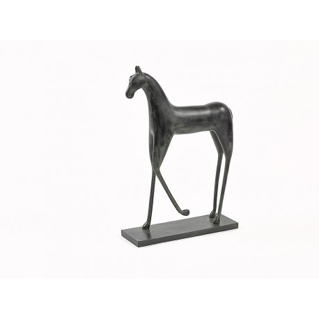 Horse Old Black 38x12x56.5 cm