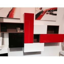 Tetris I - lacquered wall set- ex display