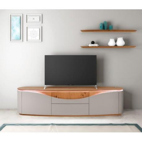 Nisa - luxury bespoke TV unit with optional lighting