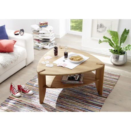 Teo - solid wood coffee table,natural oiled oak