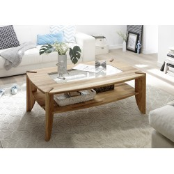 Tamara - solid wood coffee table,natural oak