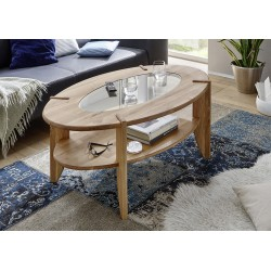 Otar - solid wood coffee table,natural oak