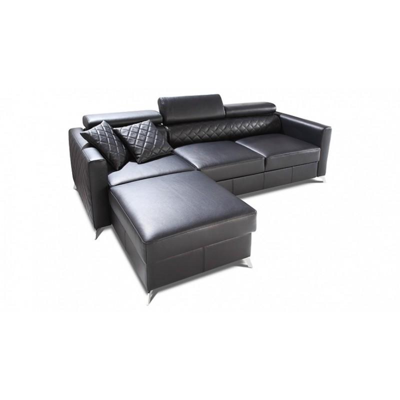 Metro corner modular sofa with ottoman sofas sena for Modular sectional sofa with ottoman