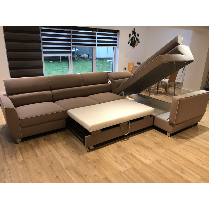 Novel L Shaped Modular Sofa Bed