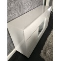 Bump -white gloss sideboard with LED lights
