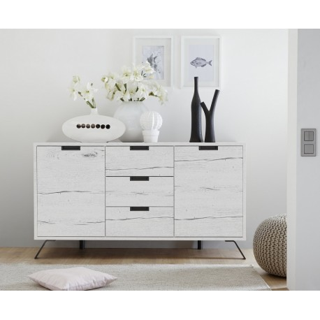 Parma- white oak modern sideboard