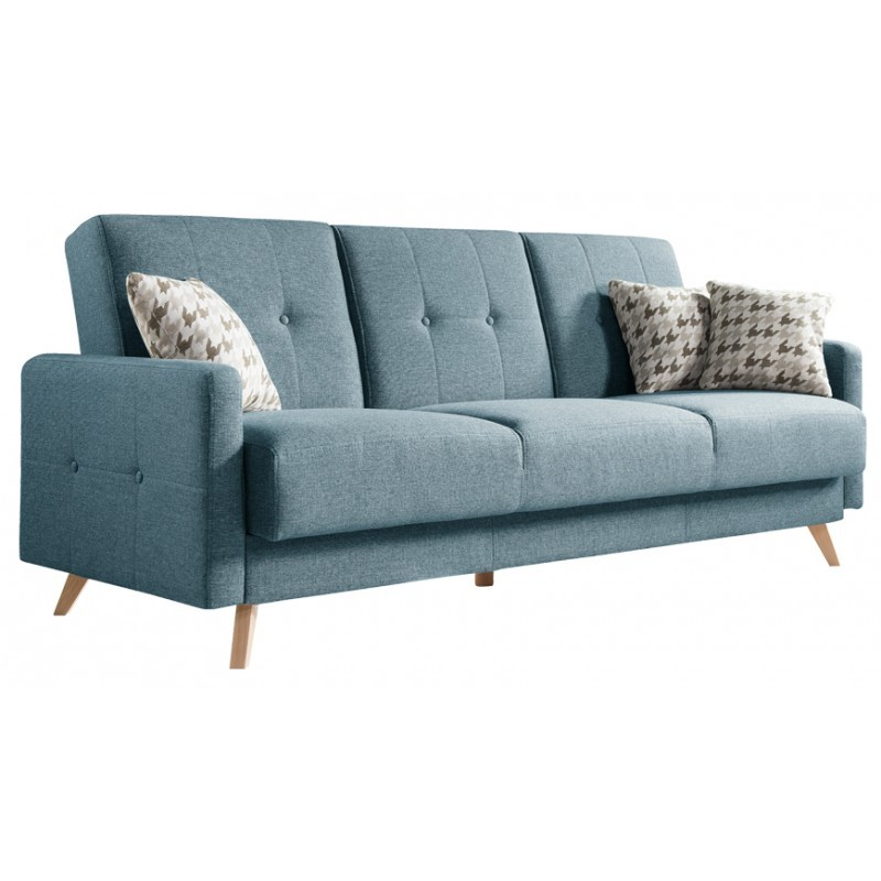 Scandi 3 Seater Scandinavian Style Sofa Sofas Sena Home Furniture