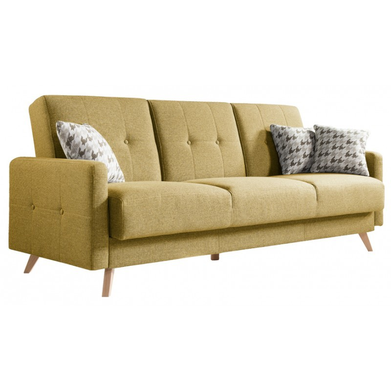 Scandi 3 Seater Scandinavian Style Sofa Sofas 2975
