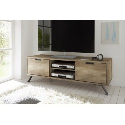 Parma - TV Stand in canyon oak finish