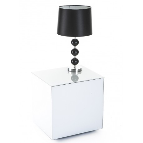 Ferro lamp table with wireless phone charger in white finish ferro lamp table with wireless phone charger in white finish aloadofball Gallery