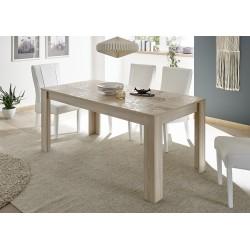 Miro - decorative oak finish dining table