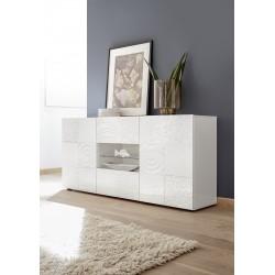 Miro 181cm white gloss decorative sideboard