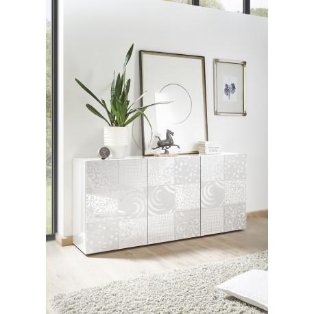 Miro II 181cm white gloss decorative sideboard
