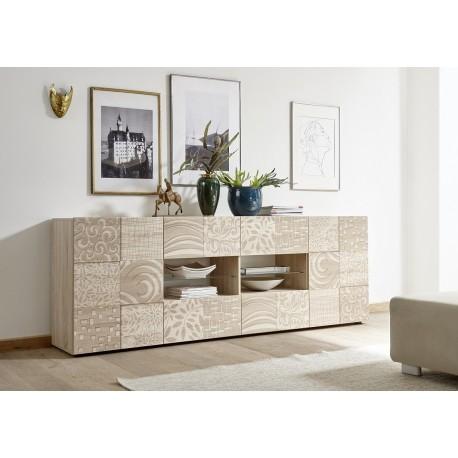 Miro 241cm - samoa oak decorative sideboard