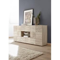 Miro 181cm samoa oak decorative sideboard