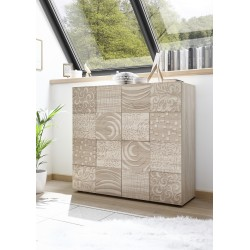 Miro samoa oak decorative highboard