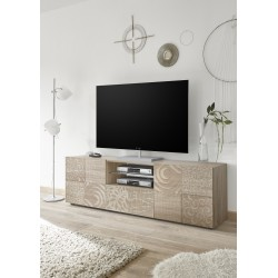 Miro 181cm samoa oak decorative TV Unit