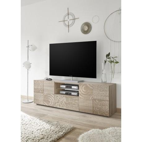 Miro 181cm samoa oak decorative TV Unit