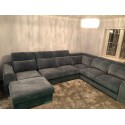 Pallazo modulio - U shape modular sofa with bed option