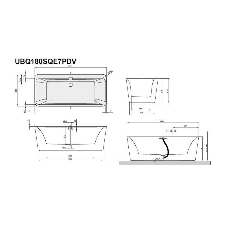 Freestanding BATH V&B ex-display - Stock Clearance (3229 ...