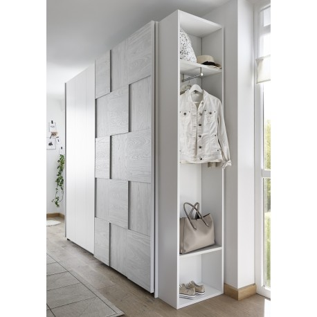 diana grey modern wardrobe with sliding doors - Modern Wardrobe