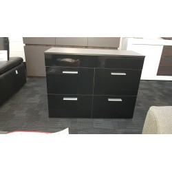 Izzy sideboard black-assembled ex display