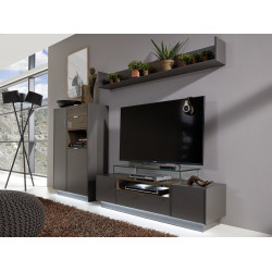 Washington 252cm  wall unit composition