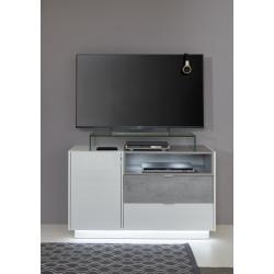 Washington 120cm white and grey sideboard