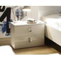 Linea I - high gloss bedside cabinet