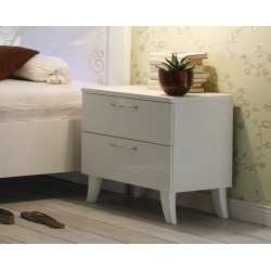 Mila II - Set of two bedside cabinets with two drawers
