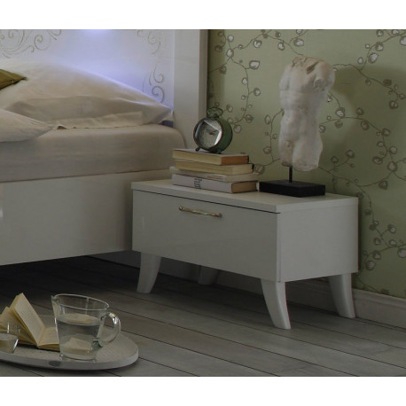 Mila - Set of two bedside cabinets with one drawer