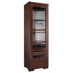 Riva assembled rotating bar cabinet