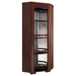 Riva corner rotating bar cabinet