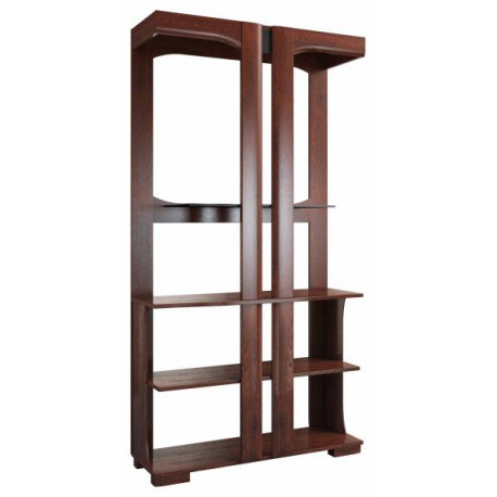 Riva solid wood bookshelf