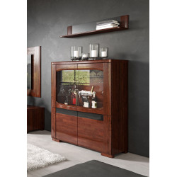 Riva assembled bar cabinet