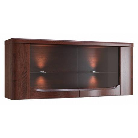 Riva assembled 122cm hanging cabinet