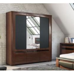 Riva 182cm 3 doors wardrobe