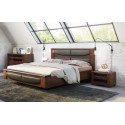 Riva solid wood bed