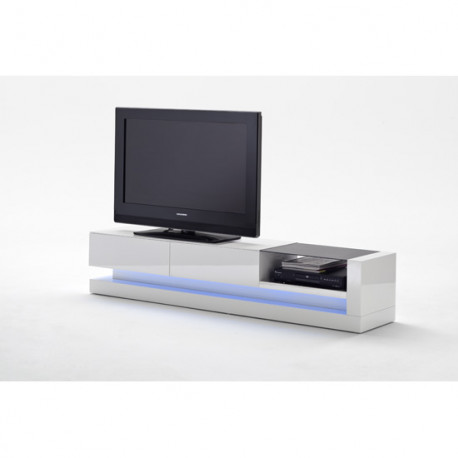 Gina high gloss TV unit with LED lights