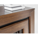 Sempre corner rotating bar cabinet