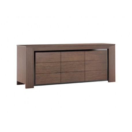 Sempre 187cm assembled solid wood sideboard