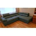 Ricardo - L shape modular sofa with bed option