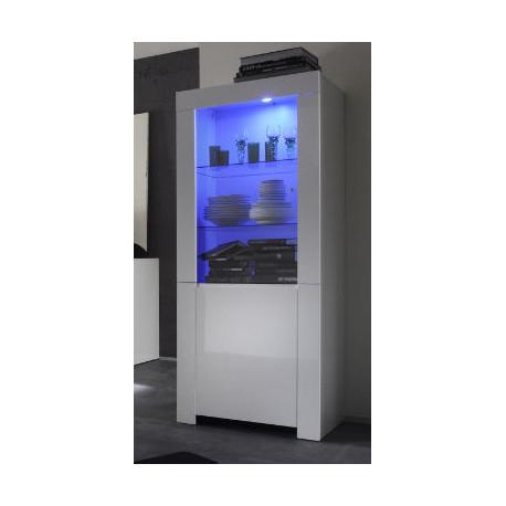 Amalia - narrow display cabinet