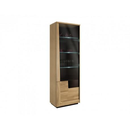 Maganda assembled solid wood display cabinet