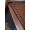Maganda assembled solid wood display highboard