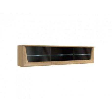 Maganda 182cm hanging glass cabinet