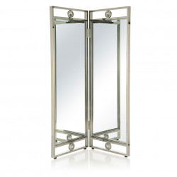 Papillon stainless steel bi-folding screen